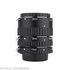 Meike Electronic Mount Auto Focus Macro Extension Tube Set Ring for Nikon DSLR