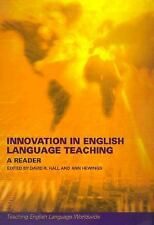 INNOVATION IN ENGLISH LANGUAGE TEACHING NEW PAPERBACK BOOK