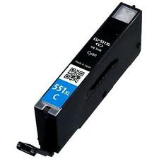 Canon CLI-551 XL Cyan Ink Cartridge Compatible for Pixma MG5650 MG6650 MG7550