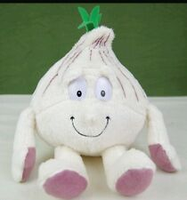 Peluche aglio vitamini coop goodness gang garlic plush soft toys naturotti