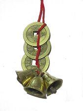Fengshui Vastu 3 bell & 3 coins #1 Selling Vastu & Fengshui Product for Home