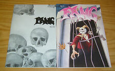 Fang #1-2 VF/NM complete series - horror anthology - tangram comics set lot 1991