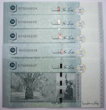 (PL) RM 50 DT 0000024 UNC 1 PIECE ONLY 5 ZERO RARE NICE FANCY & LOW NUMBER PAPER
