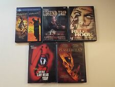 5 DVD-lot-No One Can Hear You,Plasterhead,Jeepers Creepers,Legend Trip-horror