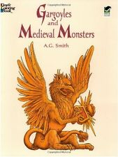 Gargoyles and Medieval Monsters Coloring Book by A. G. Smith (Paperback) NEW