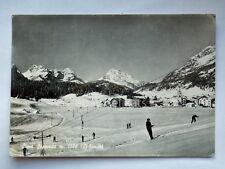 SAPPADA CIMA sci ski sport skilift cadore Belluno Dolomiti vecchia cartolina .