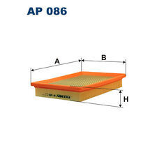 Luftfilter FILTRON AP086