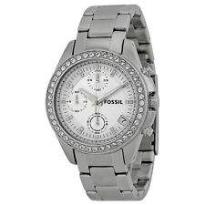 Fossil Decker Chronograph Stainless Steel Ladies Watch ES2681