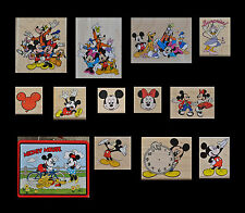 Mickey Mouse Rubber Stamp Series (with tin lunch box)
