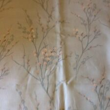 Laura Ashley Pussy Willow Duck Egg Floral Fabric 2 Meters
