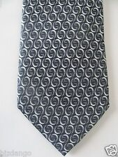 NEW TAG100% Authentic GUCCI GG Silk Men's  Black Tie .$190 Retail -Gift bag
