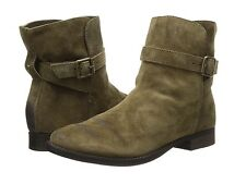 SAM EDELMAN $150 MOSS GREEN SUEDE LEATHER MALONE ANKLE BOOTIE BOOTS  7.5