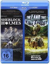 The Land That Time Forgot +  Sherlock Holmes ( Action-Sci-Fi BLU-RAY ) NEU OVP