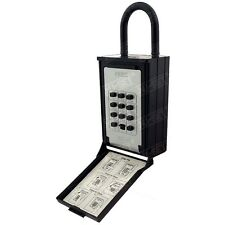 Key / Card Storage Lockbox Push Button Lock Box for Seniors, Medical Emergency