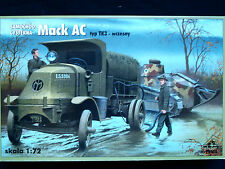 Mack ac type tk 3, early, allied wwi fuel tanker, rpm, échelle 1/72