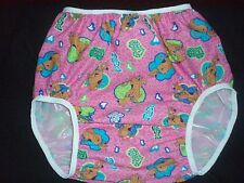 ADULT BABY SCOOBY DOO     SOFT VINYL  PANTS 36/40
