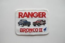 RANGER BRONCO II EMBROIDERY APPLIQUE PATCH