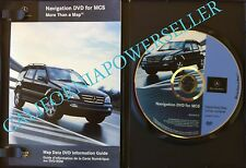 2003 2004 05 MERCEDES BENZ M ML320 ML500 ML55 AMG NAVIGATION MAP CD DISC DVD OEM