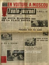 L'Auto-journal n°102 - 1954 - Citroën 11- Triumph Tr 2 - Gordini -  Bordeaux