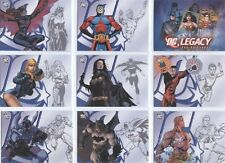 2007 DC Legacy COMPLETE 50-CARD BASE SET Rittenhouse Archives