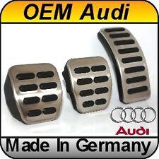 OEM Audi A2 A3 8L (97-03) TT 8N (99-05) Chrome Sport Pedal Kit