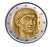 ITALIA 2 euro  2013 Giovanni Boccaccio - 700º Aniversario del Nacimiento S/C