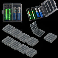 5PCS Hard Plastic Blue Green Case Cover Holder AA / AAA Battery Storage Box KY