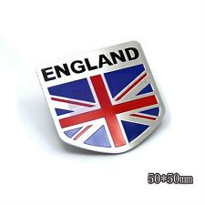 England Britain UK Flag Speed Racer Rear Emblem Badge Motor Sport Sticker Car