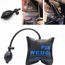 Car Wedge Alignment Air Bag Pump Powerful Door Open lock Dent Repair Tool Black