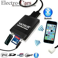 INTERFACCIA USB BLUETOOTH ADATTATORE MP3 AUTORADIO COMPATIBILE AUDI A4 B7