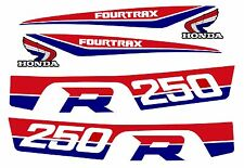 1986-1987 Style Honda Trx 250r ATV decal set -  trx250r 250r fourtrax