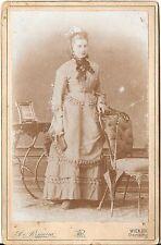 CAB photo Feine Dame - Wien um 1890