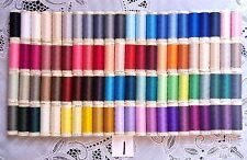 88 NEW Different colors GUTERMANN 100% polyester sew-all thread 110 yard spools