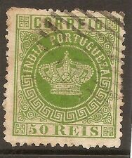1877 Portuguese India Portugal Af# 53 UH