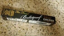 Too Faced Bulletproof 24 Hour Eyeliner Waterproof BLACK Ooh & Aah BNIB Full Size
