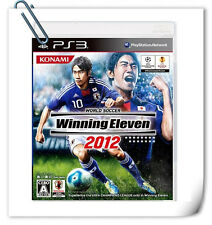 PS3 Winning Eleven 2012 Pro Evolution Soccer PES SONY Games SPORTS KONAMI