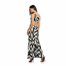 Nicki Minaj black & white mermaid style sleeveless maxi dress, Plus size 3X