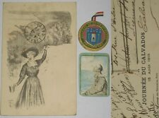 WW1, lot 3 JOURNEES: tuberculose, Calvados 1915, Coulommiers, Seine et Marne