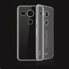 Clear Crystal Soft TPU Silicone Gel Cover Case Skin For LG Nexus 5X UK