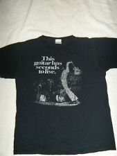 """This Guitar Has Seconds To Live"" Pete Townsend Black  T-Shirt Men's (S)"