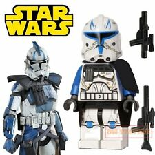 Captain Rex Minifigure fits Lego Toy Star Wars Clone Wars H72019