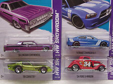 HW 2013 K-MART SEPT. 3rd SET OF 4 CARS