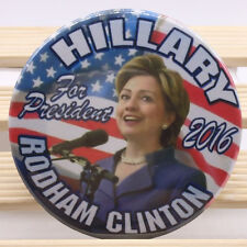 "2016 HILLARY for PRESIDENT 2.25"" CAMPAIGN BUTTON, clinton hcshf"