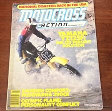 MOTOCROSS ACTION JANUARY 1979 YZ125F  HUSQVARNA 250CR VINTAGE TWINSHOCK YZ CR