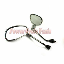 SCOOTER REARVIEW MIRROR MOTORCYCLE MOPED GY6 50cc 125cc 150cc 250cc CHROME 8MM