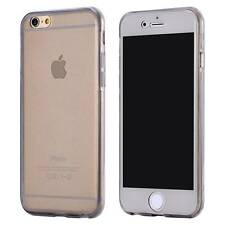 Clear Transparent Front Back Full Body Holder Gel Rubber Case For iPhone LG