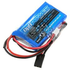 Optipower Lipo Cell Rx Battery 430mAh 2S1P 20C OPR4302S
