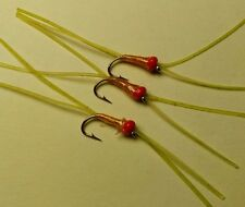 Bead Head Killer Blood Worm Trout Buzzers Trout Lures Fly Fishing Trout Flies