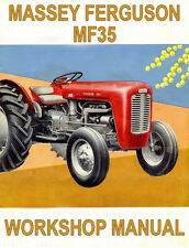 MASSEY FERGUSON MF35 TRACTOR WORKSHOP MANUAL