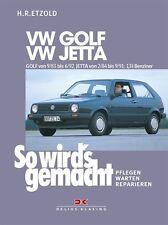 WERKSTATTHANDBUCH WARTUNG SO WIRD´S GEMACHT 43 VW VOLKSWAGEN GOLF JETTA 2 II BEN
